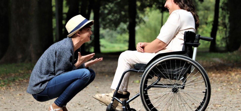 A girl on long term disability.