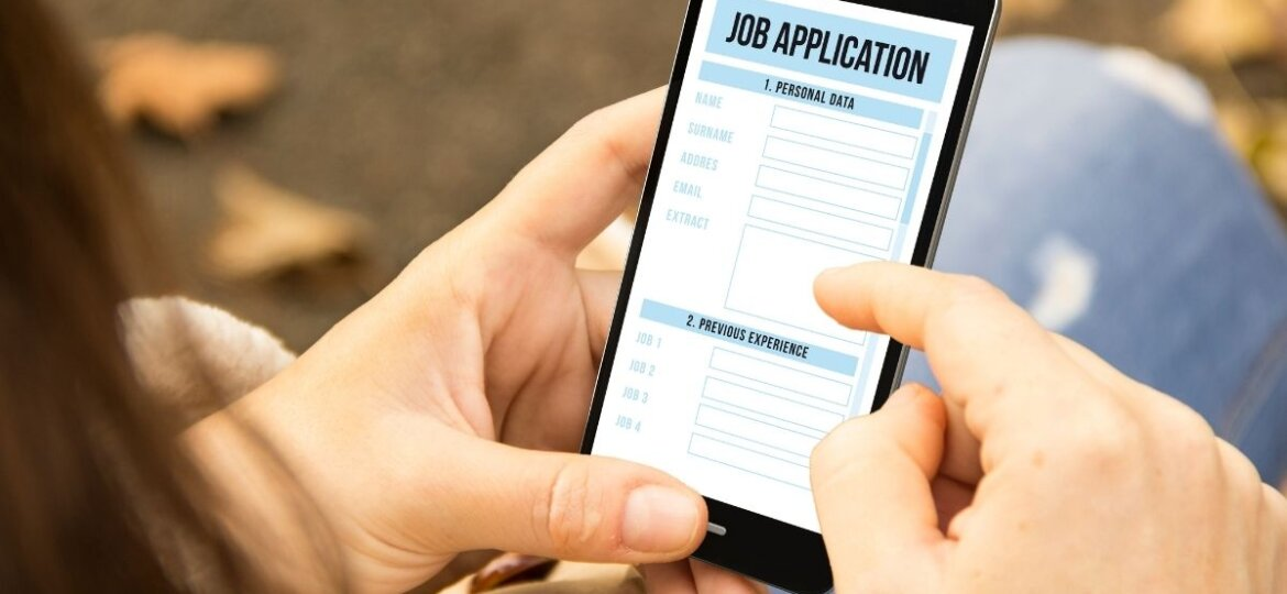 Applying for a job while receiving workers compensation benefits.