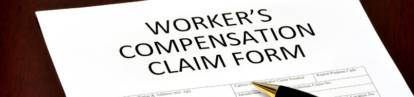 Workers compensation claim form.